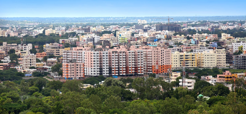 海得拉巴市 图库摄影