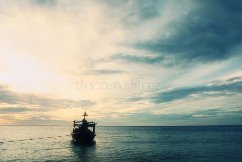 海景场面 免版税图库摄影
