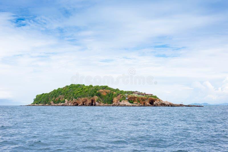 海景热带海岛 图库摄影