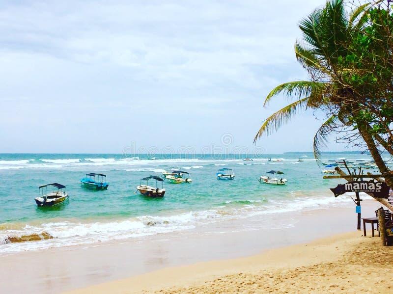 海景,斯里兰卡 免版税库存照片
