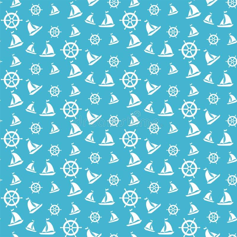 海样式 免版税库存照片