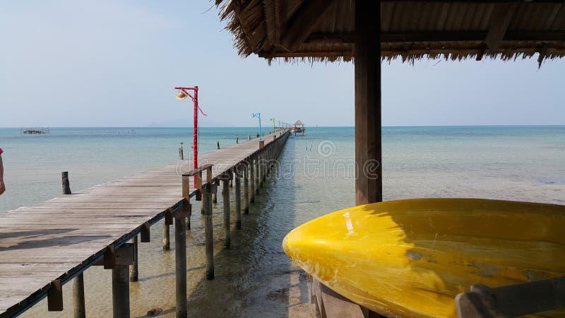 海沙在海滩的太阳夏天 免版税库存照片