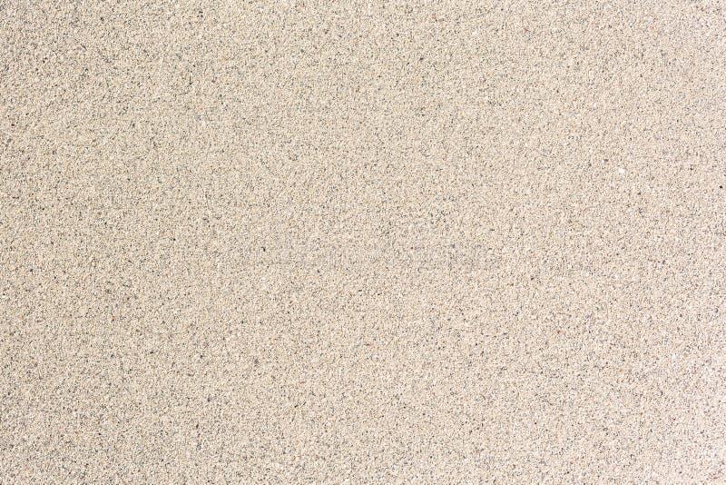海沙,光滑的背景 小药丸 免版税图库摄影