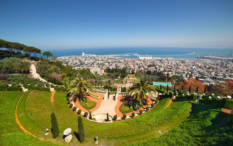 海法。以色列 免版税图库摄影