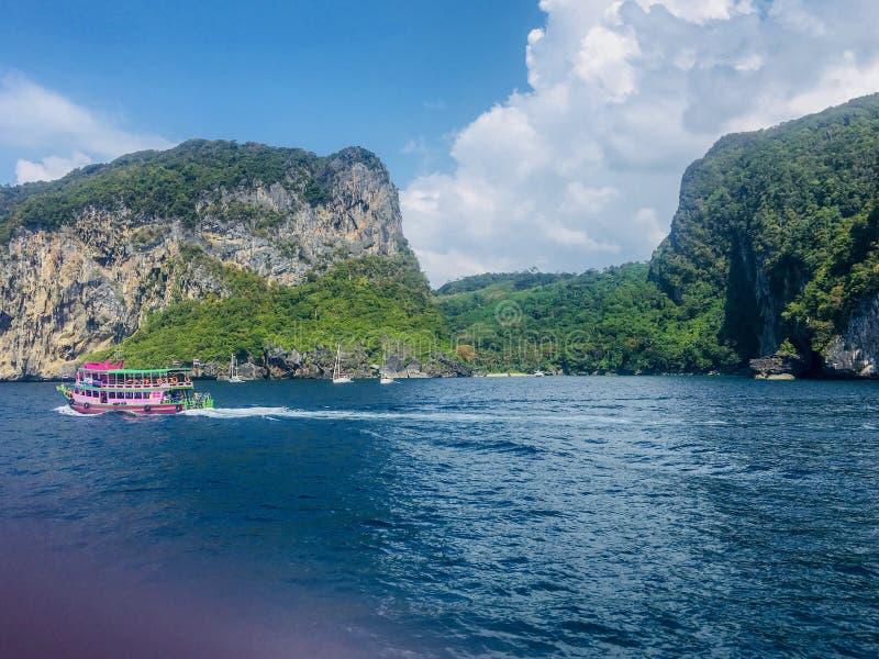 海泰国 美丽的海岛 库存图片