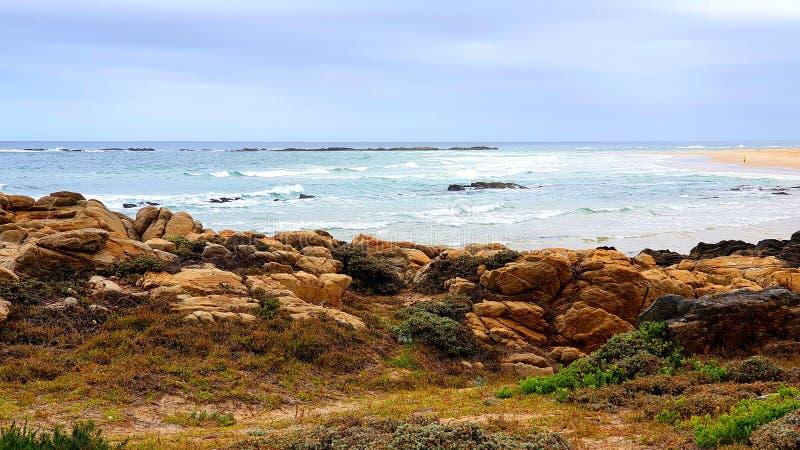 海洋与太阳 免版税库存图片