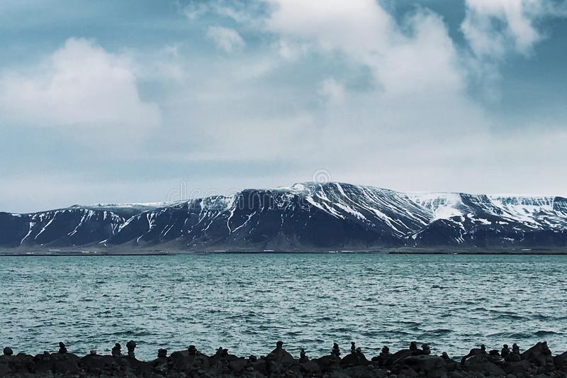 海洋冰岛 免版税库存图片