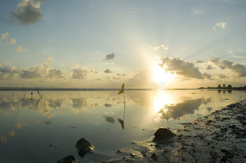 海洋场面 免版税库存图片