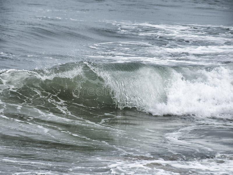 海洋大西洋波浪 库存照片
