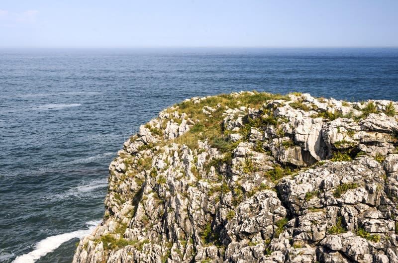 海洋大西洋海岸线 库存照片