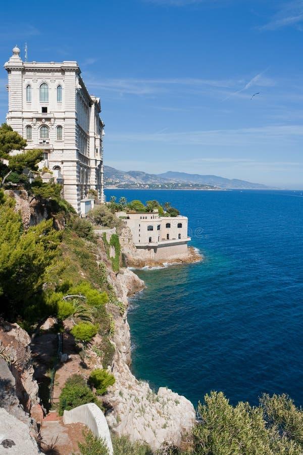 海洋学摩纳哥的博物馆 库存图片
