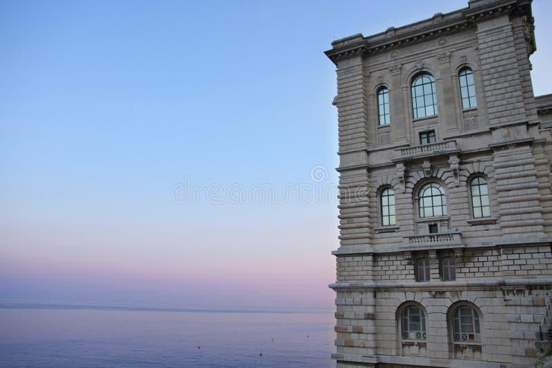海洋学摩纳哥的博物馆 库存照片
