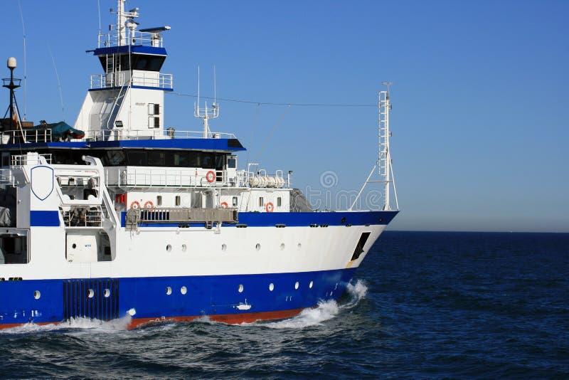 海洋学船 免版税库存图片