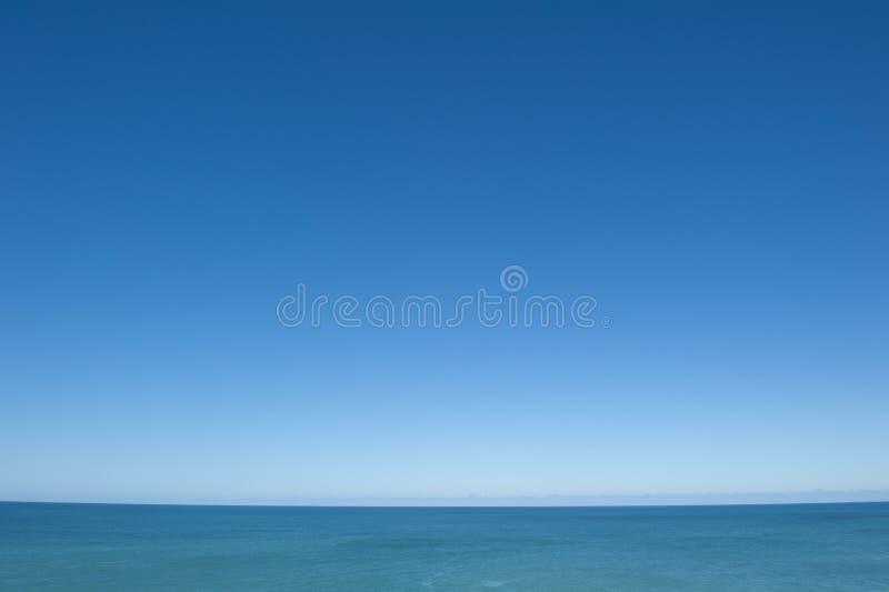 海洋开放视图 免版税库存照片