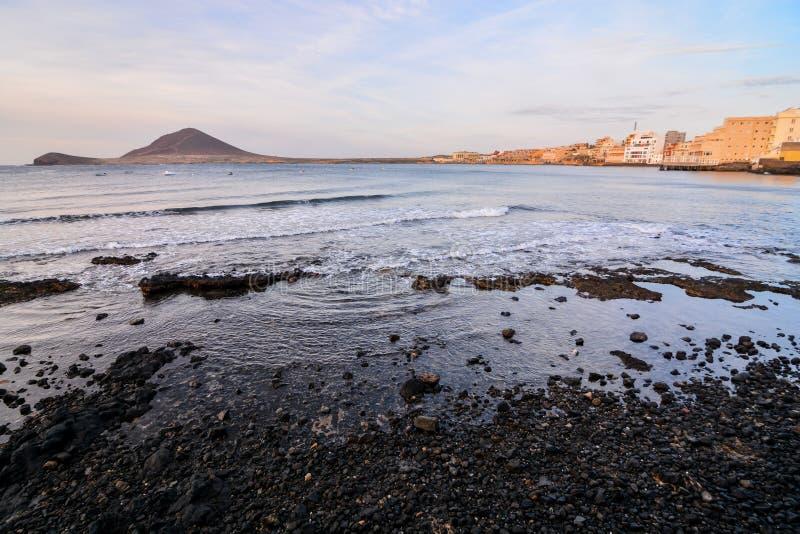 海洋海岸` s视图 免版税图库摄影