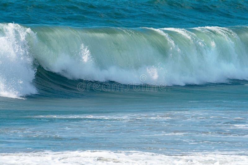海洋海浪通知 库存照片