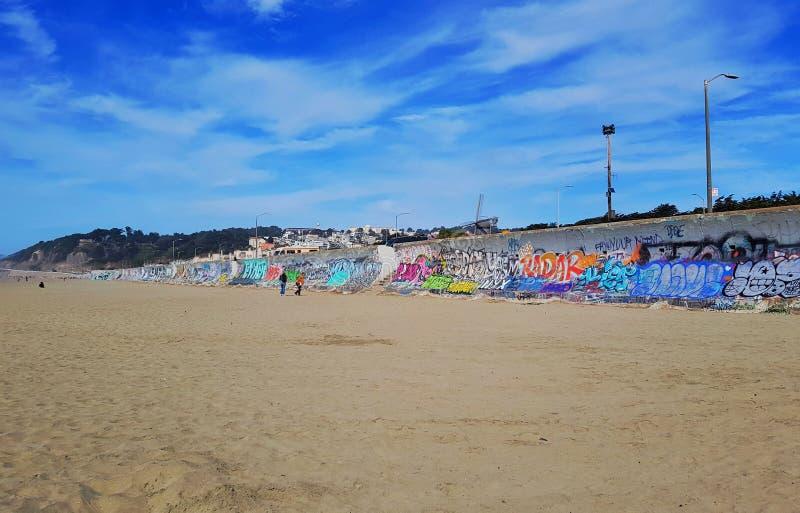 海洋海滩火坑 库存图片