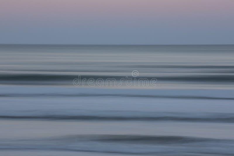 海洋淡色迷离 免版税库存照片