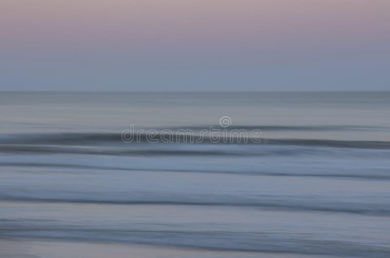 海洋淡色迷离 免版税图库摄影