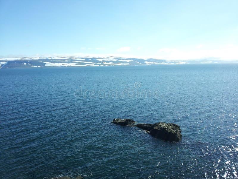海洋看法 免版税库存照片