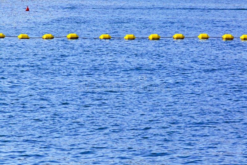 海浮体线 免版税库存照片