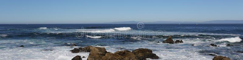 海海浪 免版税图库摄影