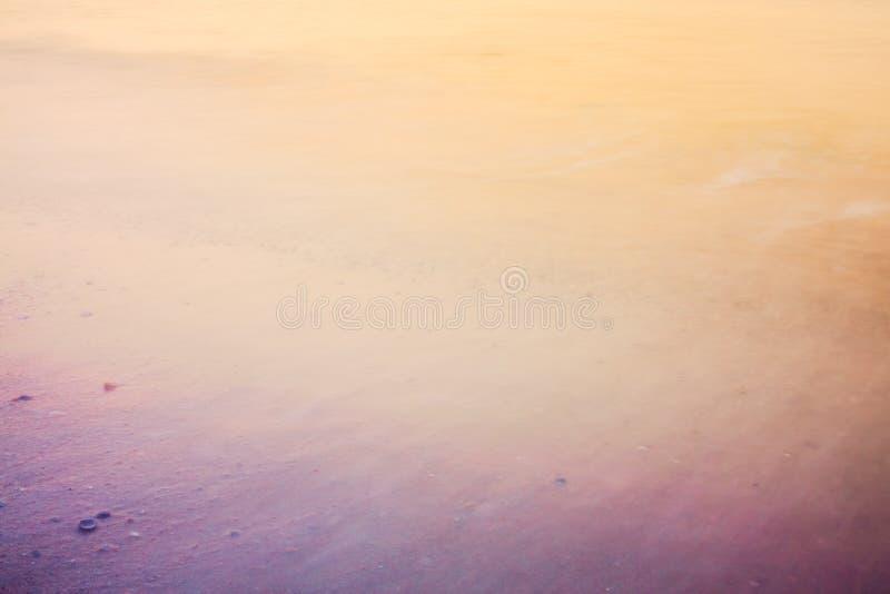 海海洋水海滩长的曝光  库存照片