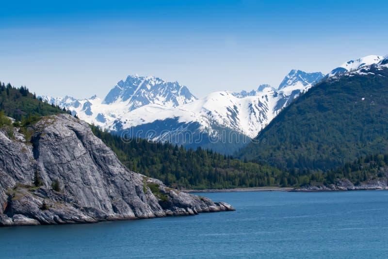 海湾冰川国家公园 免版税图库摄影