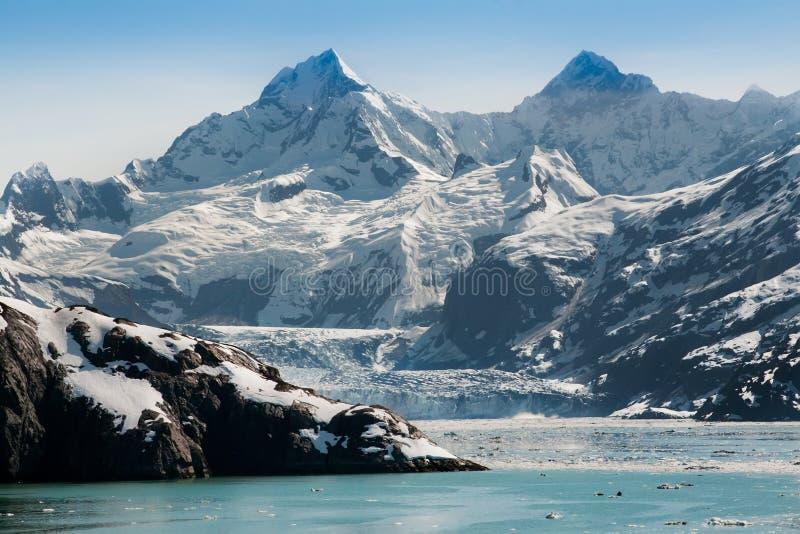 海湾冰川国家公园 图库摄影