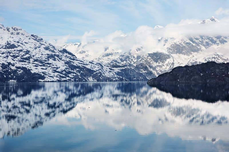 海湾冰川 免版税库存照片