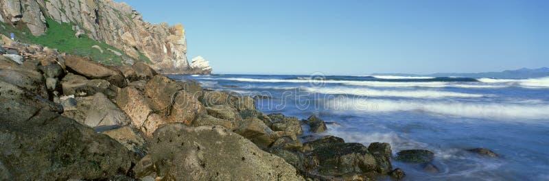 海湾加利福尼亚morro 免版税库存照片