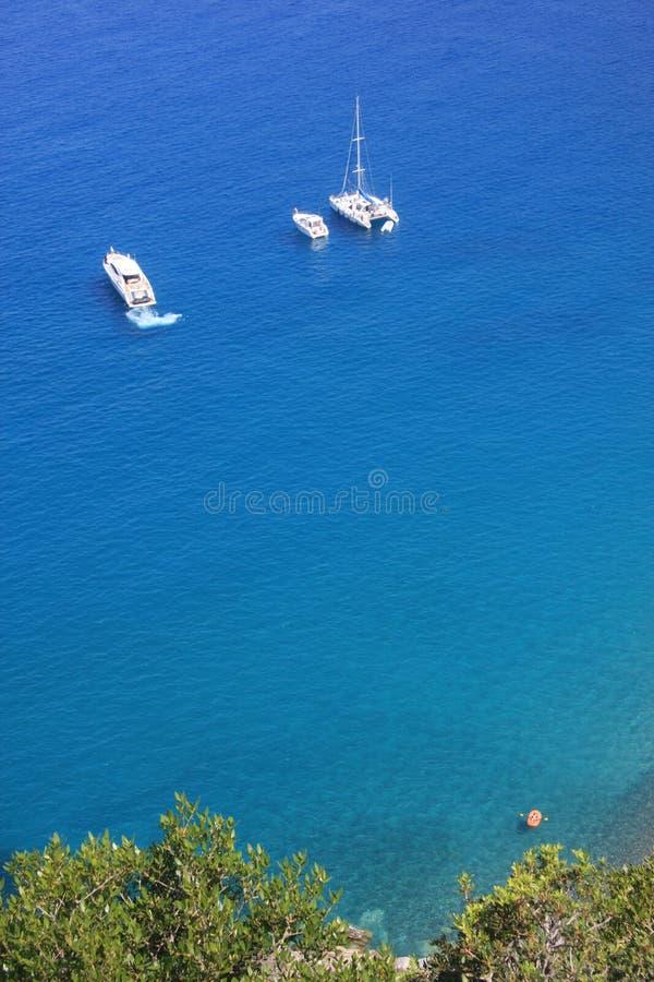 海湾可西嘉岛法国波尔图航行 库存图片