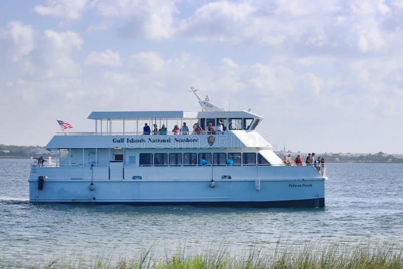 海湾支持全国海滨,佛罗里达 免版税库存图片