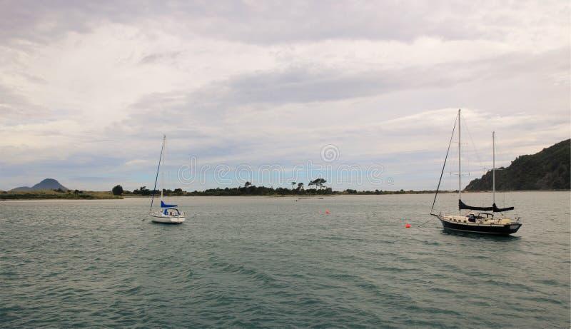 海湾早晨好新的whakatane西兰 免版税图库摄影