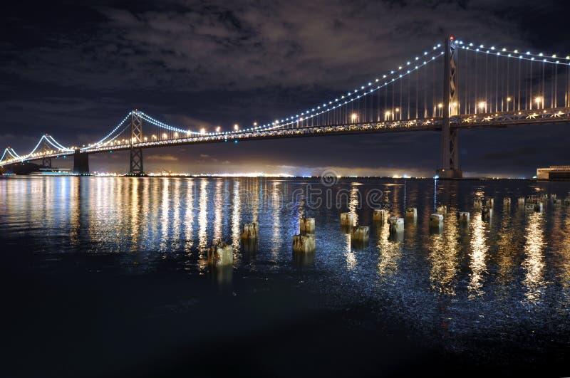 海湾桥梁加利福尼亚弗朗西斯科・圣 免版税库存照片