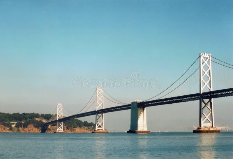 海湾桥梁奥克兰 免版税图库摄影