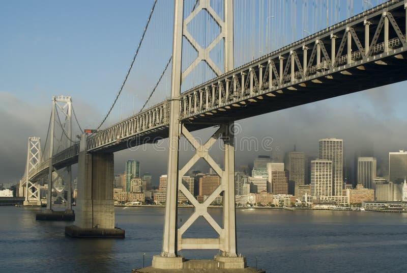 海湾桥梁奥克兰 库存图片