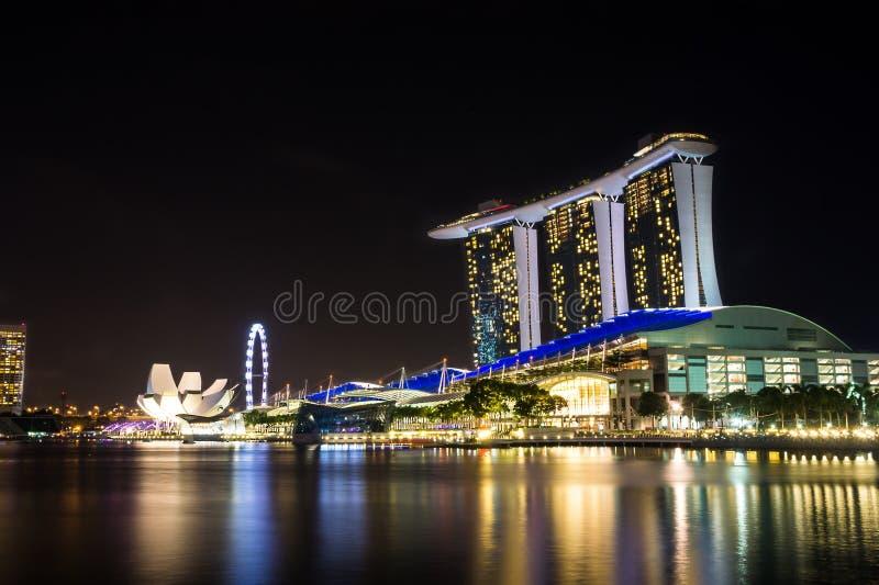 海湾海滨广场新加坡 免版税库存图片