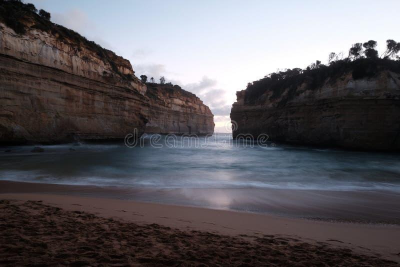 海湾Ard峡谷,澳大利亚 免版税库存照片