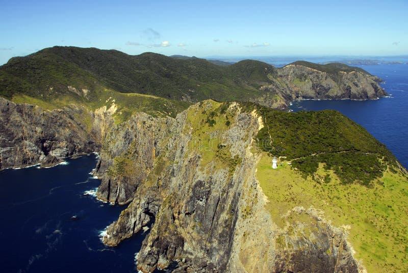 海湾brett海角海岛 库存照片