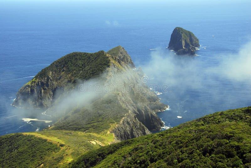 海湾brett海角海岛 免版税库存图片