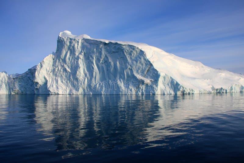 海湾disko格陵兰冰山 免版税库存图片