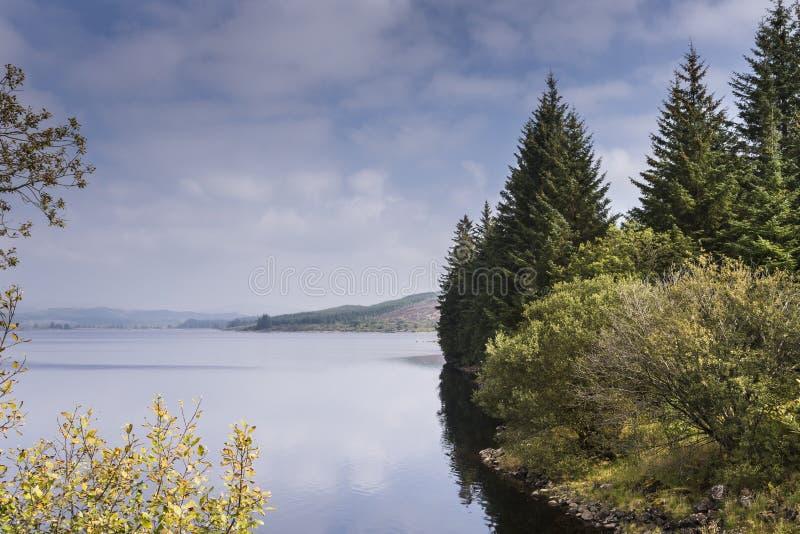 海湾Glashan在西部Argyll,苏格兰 库存照片