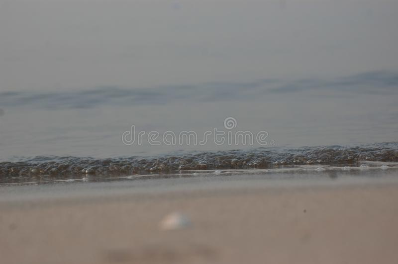 海滨seawave 免版税库存图片