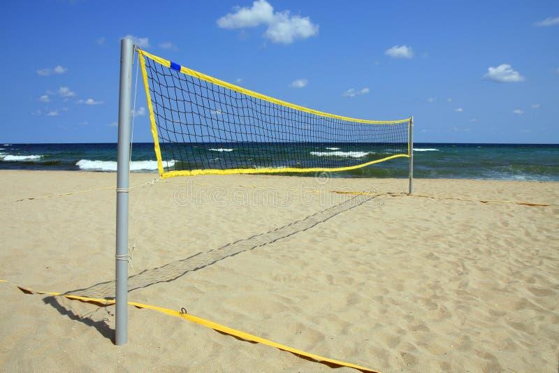 海滩体育运动 库存照片