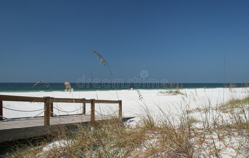 海滩佛罗里达 图库摄影
