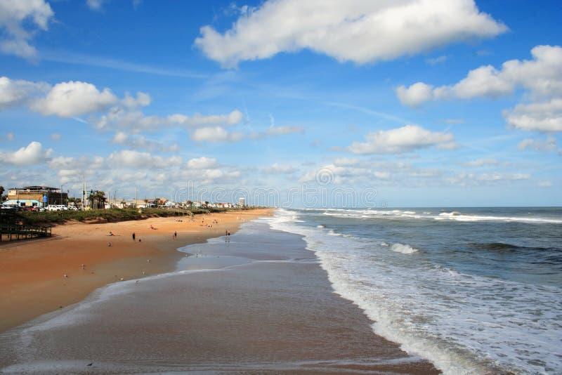 海滩佛罗里达 免版税库存照片