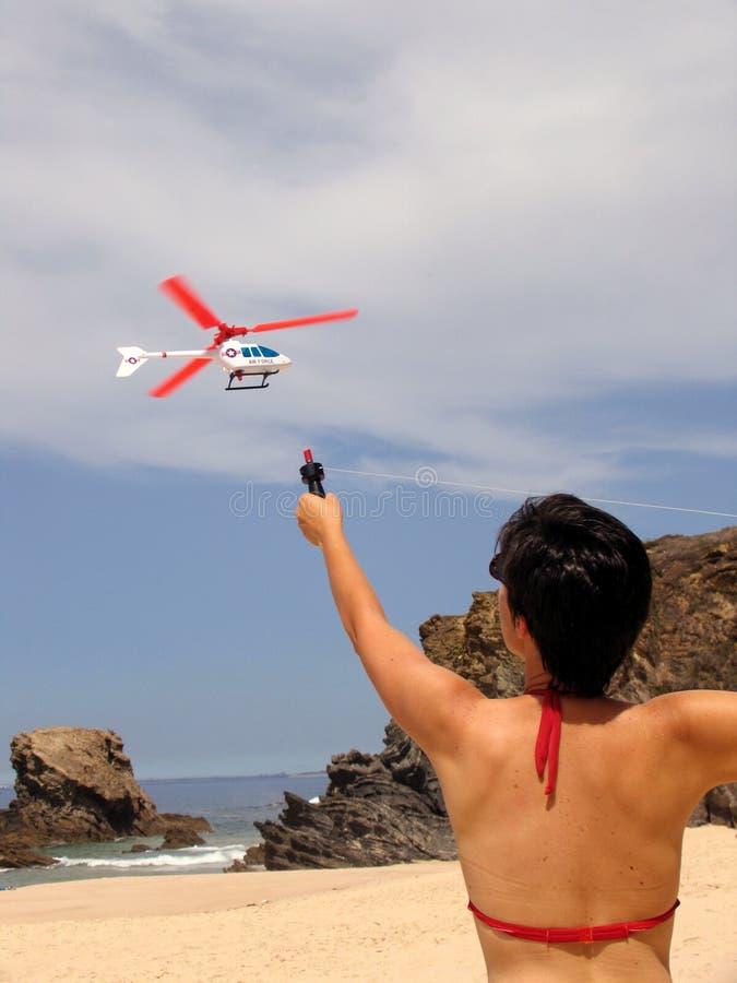 海滩使用 免版税库存图片