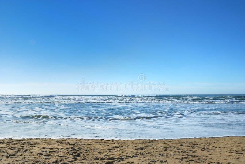 海滩加利福尼亚弗朗西斯科海洋圣 免版税库存照片