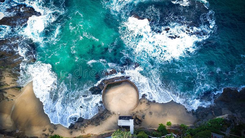 海滩加利福尼亚拉古纳 免版税库存照片